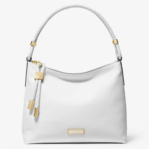 Michael Kors Medium Lexington Leather Shoulder Bag